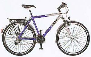 Trekkingový bicykel na prenájom Topoľčianky